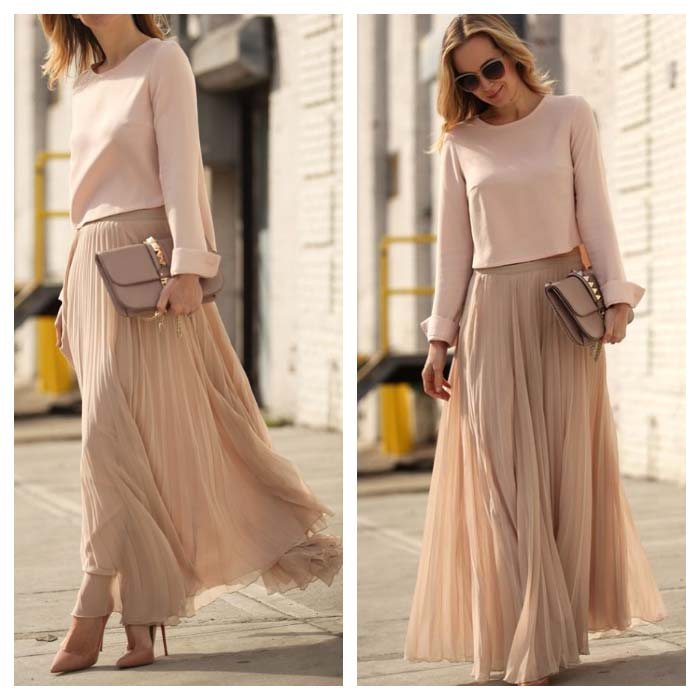 Nude color clothing