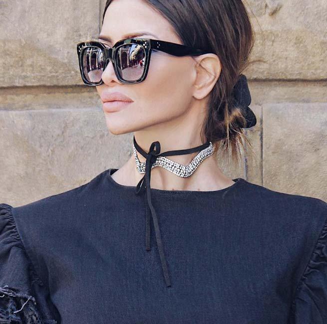 Модный блогер стиль шик