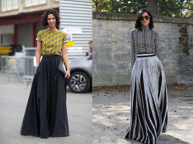 Maxi Full Skirt - аутфит