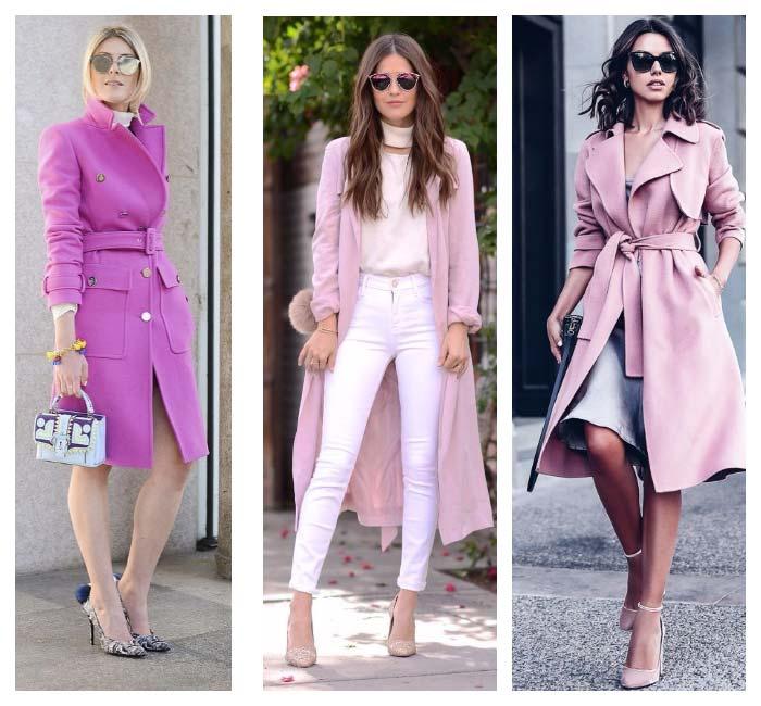 Оттенки розового для девушки - весны