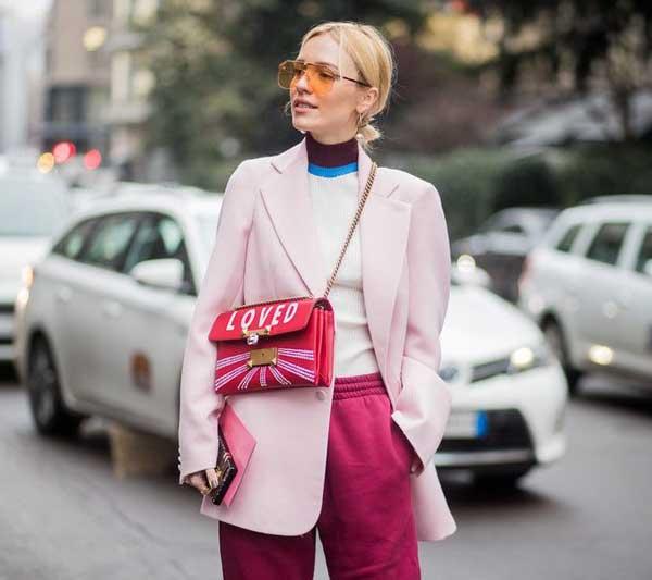 Тонкости розового цвета в гардеробе: фото и правила подбора по цветотипу