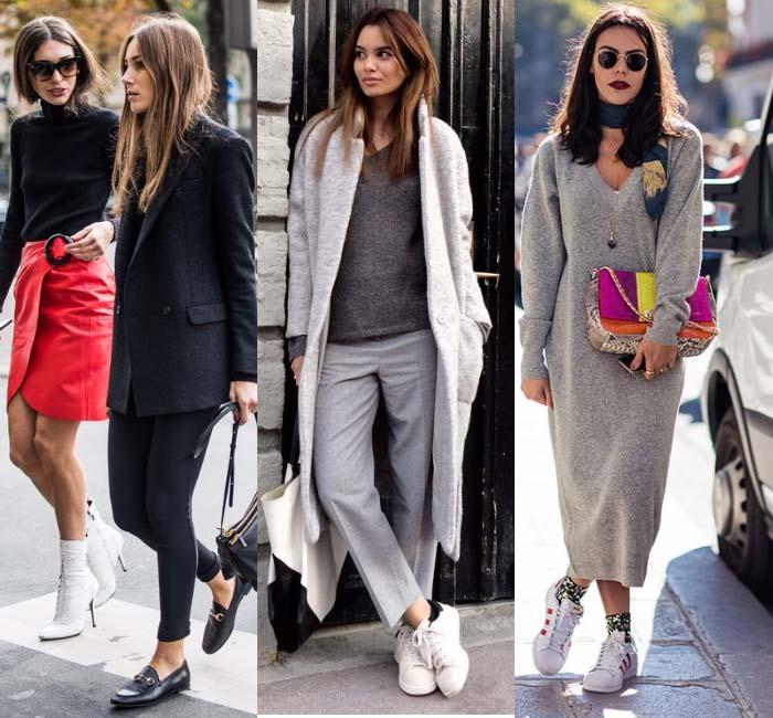 Белая обувь тренд 2017