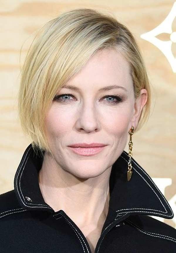 Cate Blanchett асимметричное каре