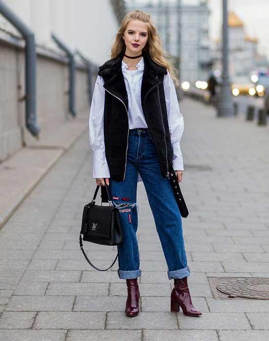 В офис и на свидание: 7 идеальных сочетаний с джинсами бойфренд фото 2