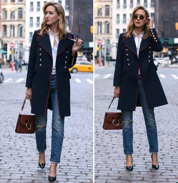 7 идеальных сочетаний с джинсами бойфренд