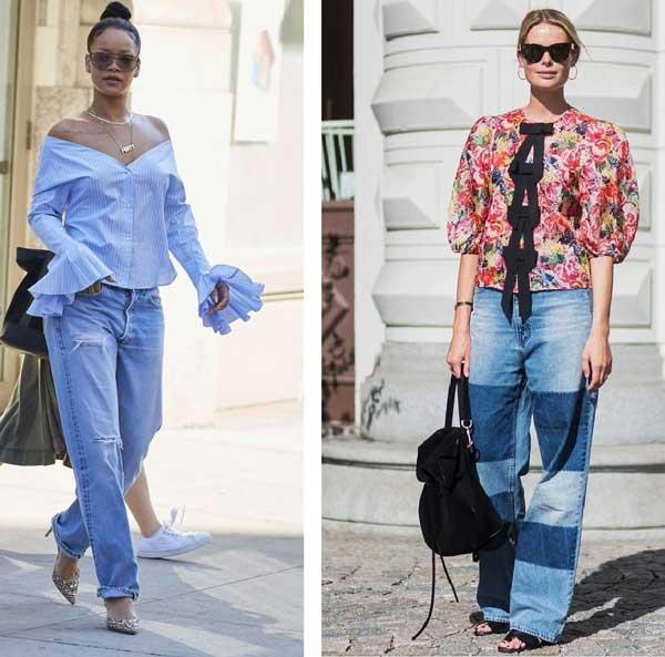 В офис и на свидание: 7 идеальных сочетаний с джинсами бойфренд 7