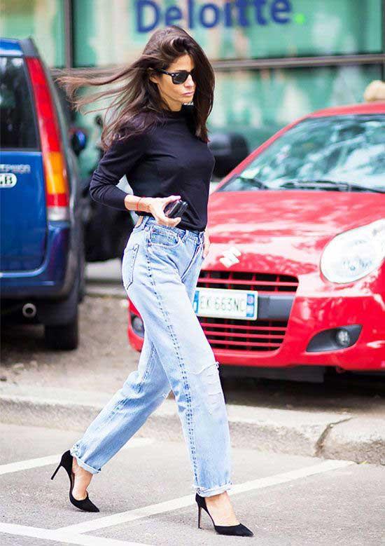 В офис и на свидание: 7 идеальных сочетаний с джинсами бойфренд
