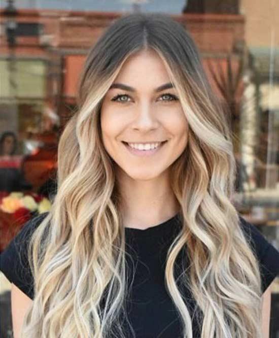 Брондирование волос и коррекция формы лица