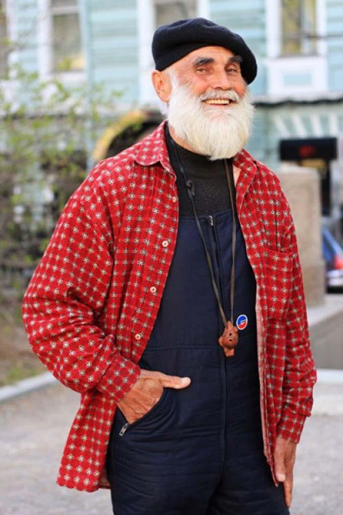 Модный пенсионер