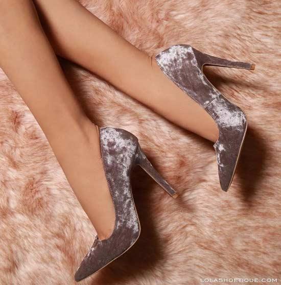Бархатные туфельки