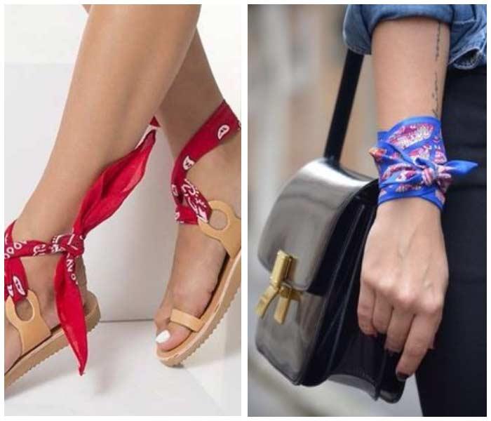 Платки на обувь и руку