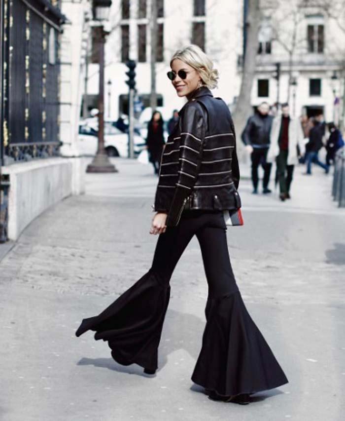 Куртка и очень модные штаны образ 2017