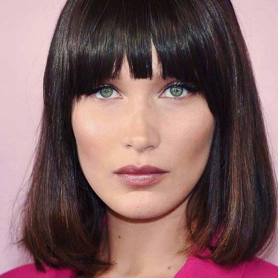 Makeup look Белла Хадид