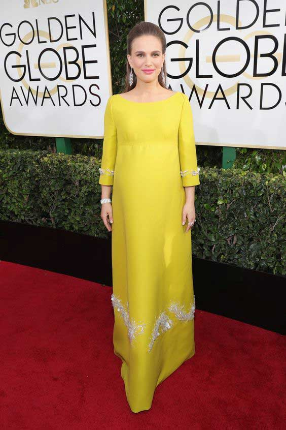 Golden Globes 2017 Натали Портман