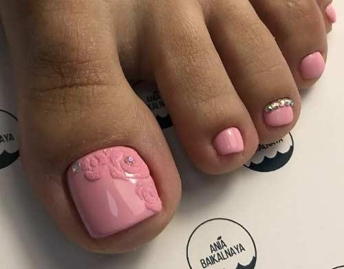 Розовый и 3d дизайн