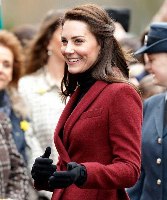 Kate Middleton классический стиль