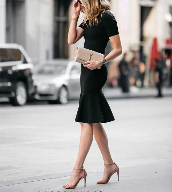 Черное платье - аутфит