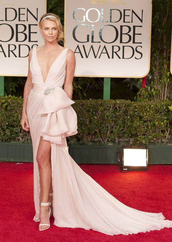 Платье Dior Шарлиз Терон