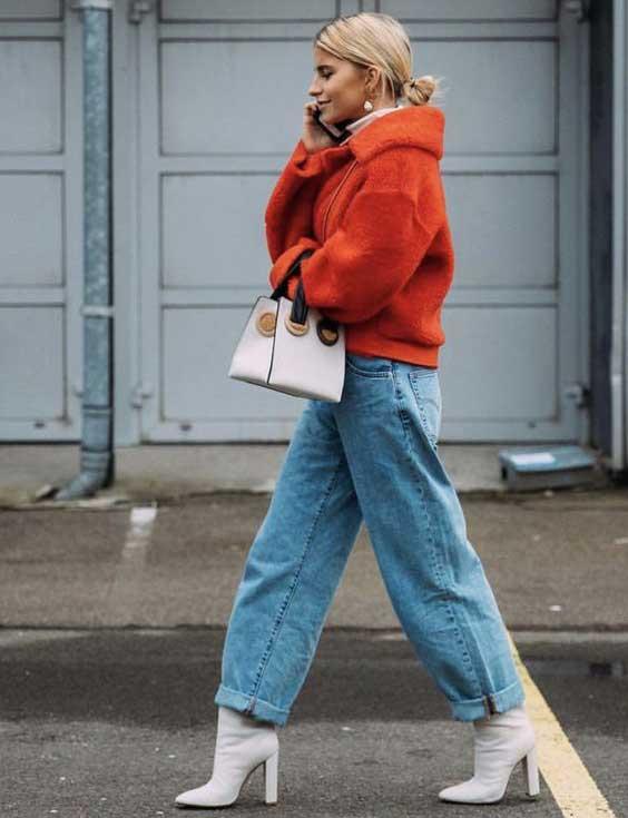 Белые ботильоны на осень: тренд для модниц и строгих скромниц