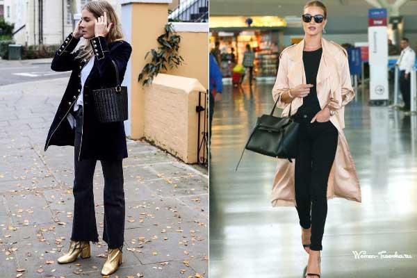 Подборка с чем носят черные джинсы знаменитости