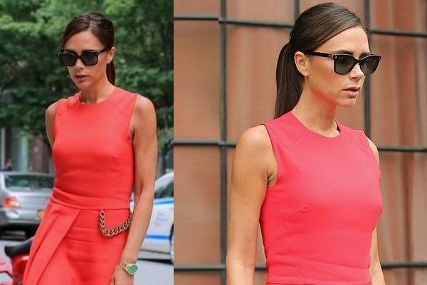 Тренд осени - красное платье