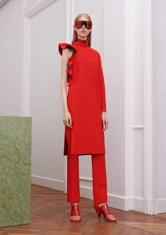 Платье с брюками комплект