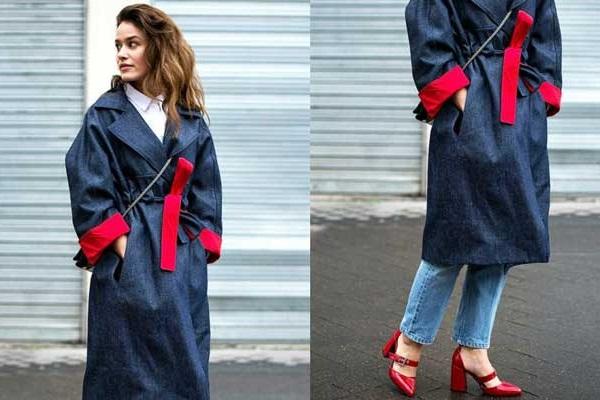 Модный тренд осень 2017 джинсовый тотал лук