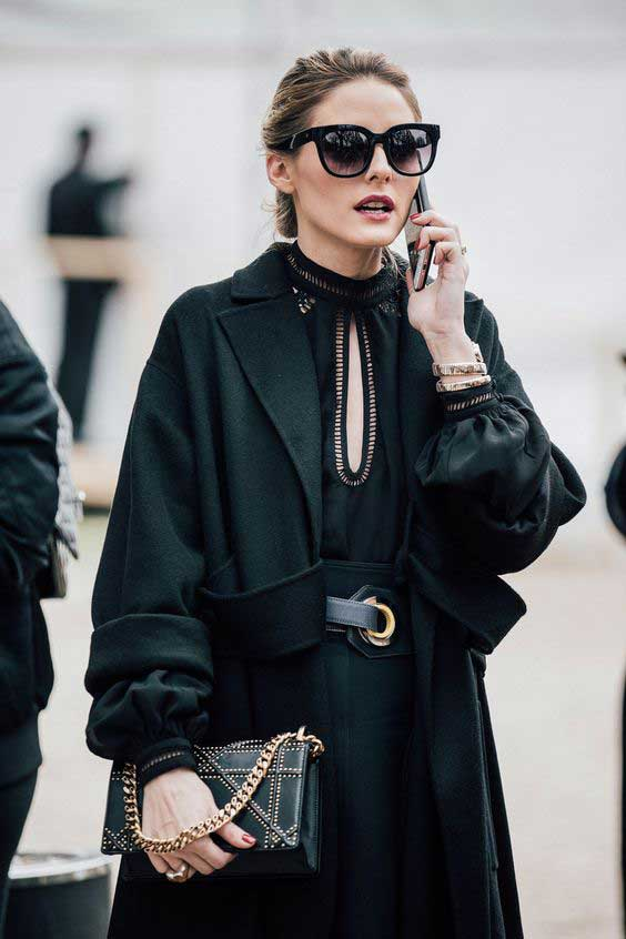 Olivia Palermo - Fall 2017 Paris Fashion Week Street Style