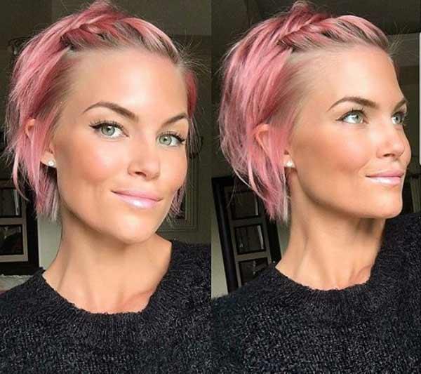 Ягодный блонд с розовым подтоном