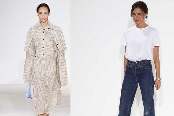 Новые идеи для офисного гардероба от Виктории Бекхэм: весна-лето 2018
