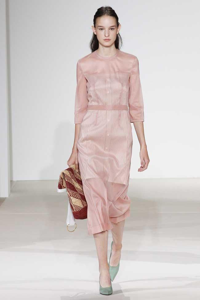 Платье, пастельные тона, коллекция Бекхэм