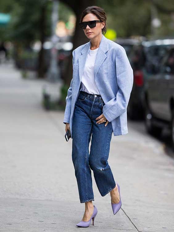 Пиджак+джинсы
