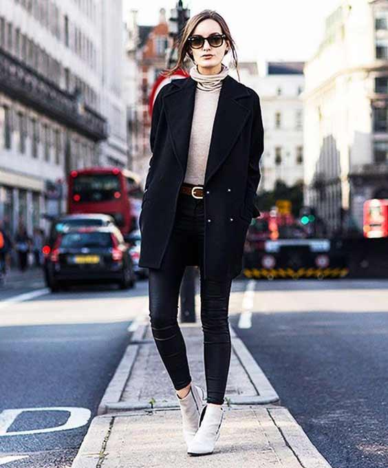 Кожаные брюки+ пиджак оверсайз