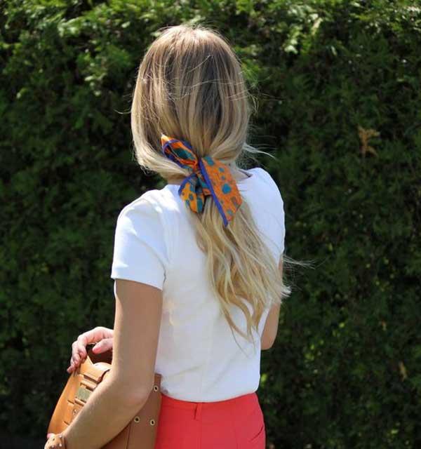 Подвязка для волос