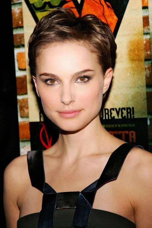Natalie Portman короткая прическа