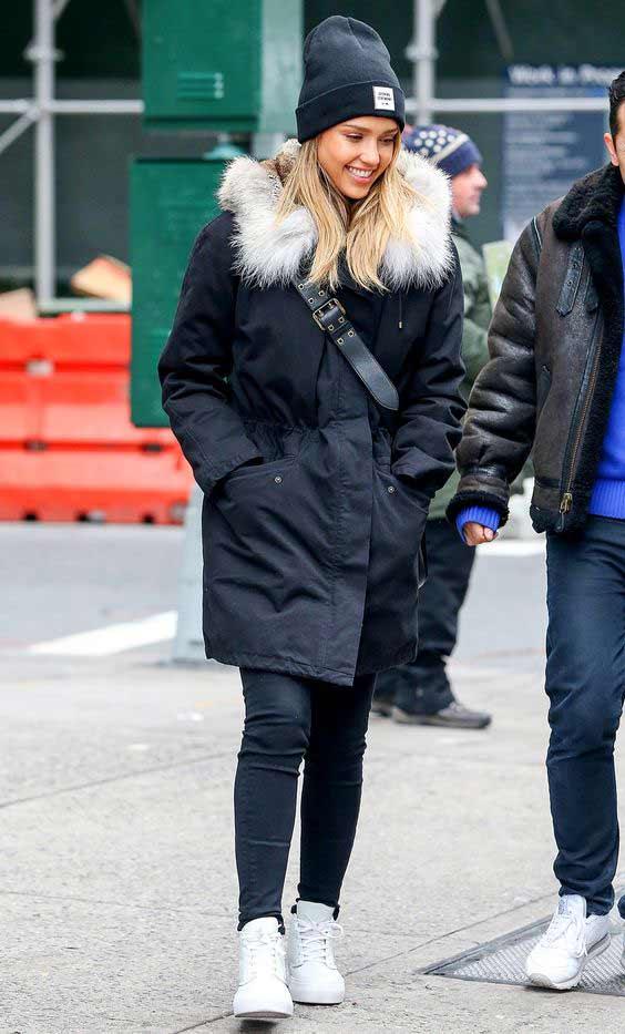 Бини-шапка на зиму