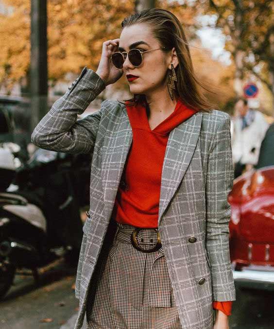 Пиджак с худи