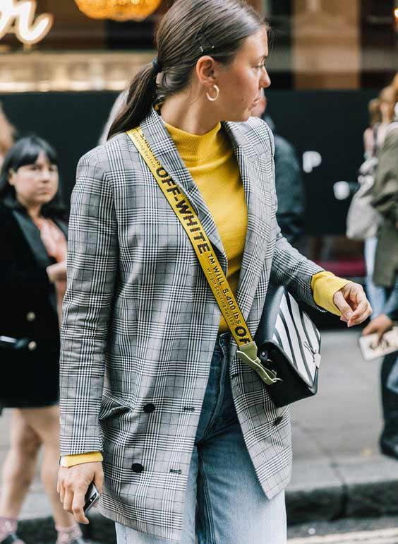 Пиджак женский черный мод. С чем носить черный пиджак (82 фото ... | 770x564