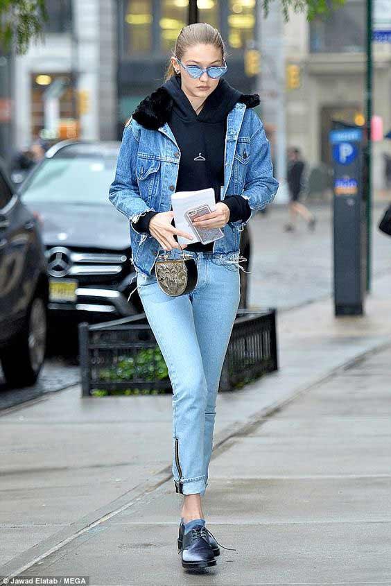 Худи + джинсы