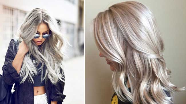 Платиновый цвет волос тренд 2017-2018