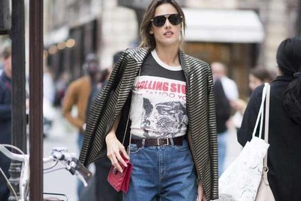 Остромодные варианты сочетаний с джинсами
