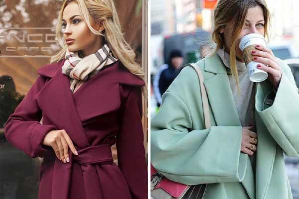 Цвет, фасон, детали, трендовые модели пальто осень-весна 2017-2018