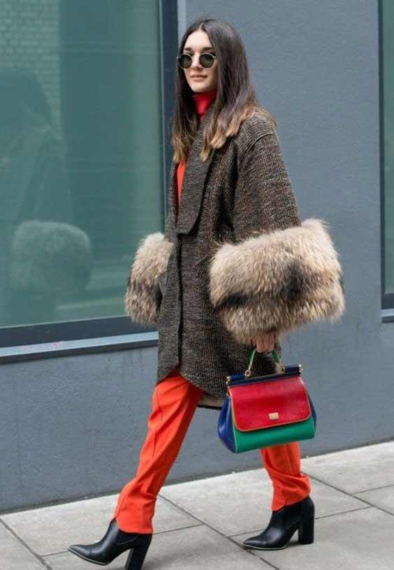 Детали модного демисезонного пальто