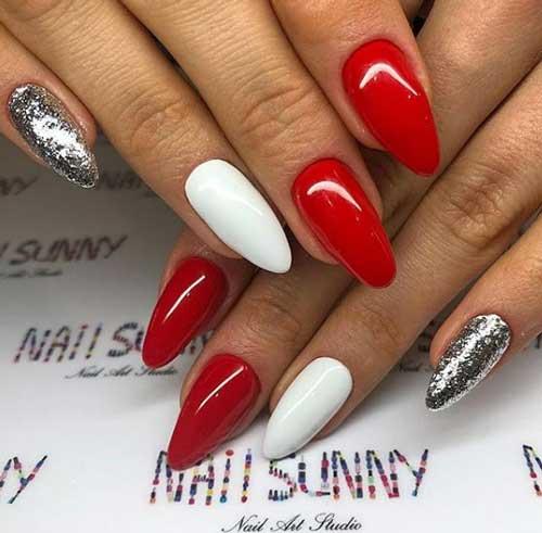 Красный+белый
