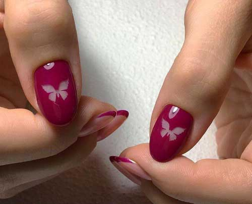 Дип-дизайн на ногтях
