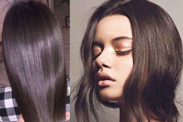 Как добиться блеска волос дома