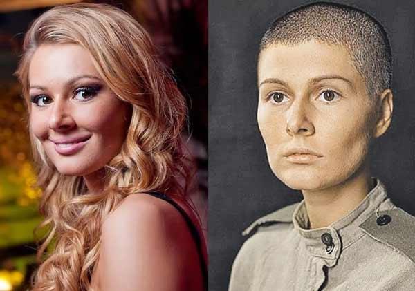 Мария Кожевникова российская знаменитость стриглась налысо
