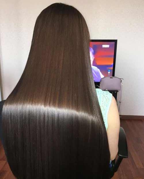 Волосы после процедуры полировка волос