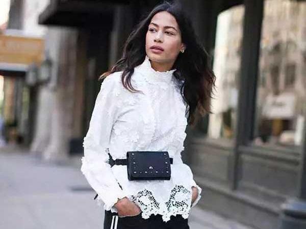 С чем интересно сочетать классическую белую блузку: образы 2018 фото
