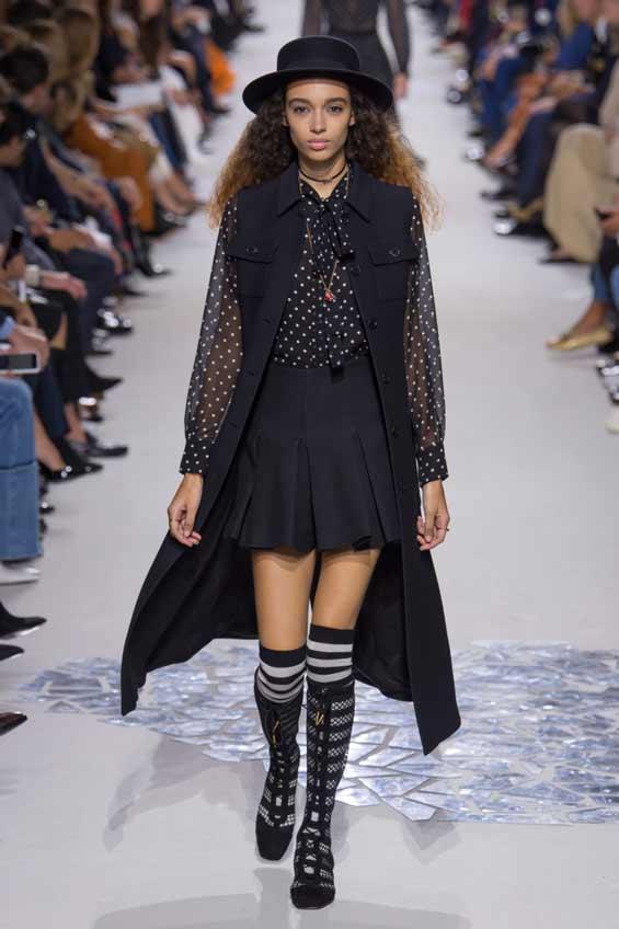 Мини-юбка Christian Dior